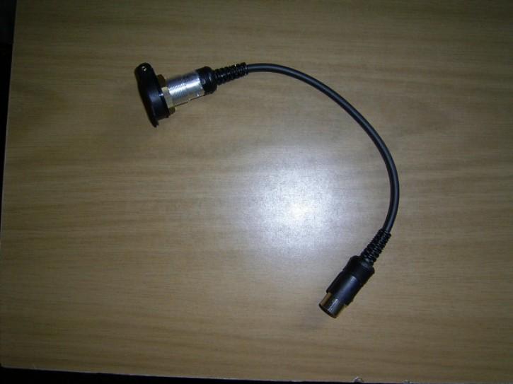 EBA-01-Eigen Einbaubuchse für Helmanschluss mit Klappdeckel