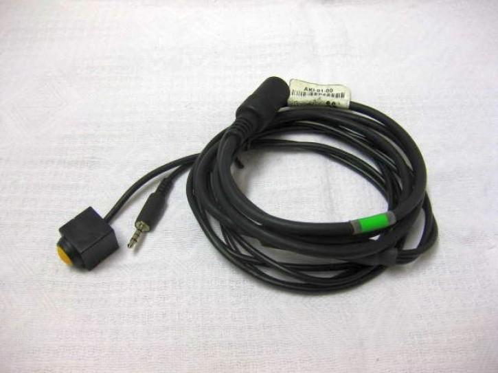KT-AKI-01-00 Adpaterkabel iPhone (3, 36, 3GS, 4) mit Rufannahmetaste gebraucht