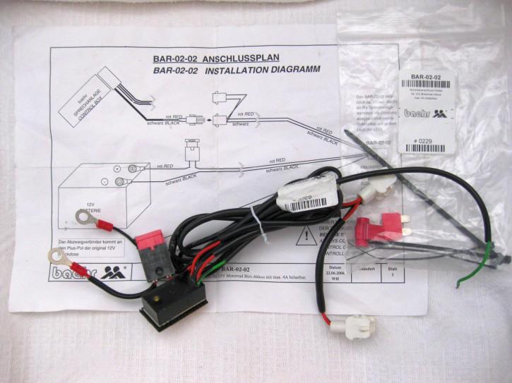 BAR-0202  Bordnetz Anschlussrelais gebraucht #0229