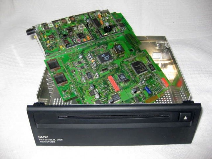 Endstufenreparatur BMW K1200LT Radio