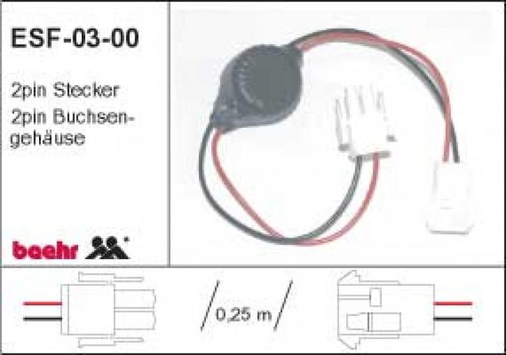 KT-ESF-03-00 gebr. Entstörfilter 12V max. 4A