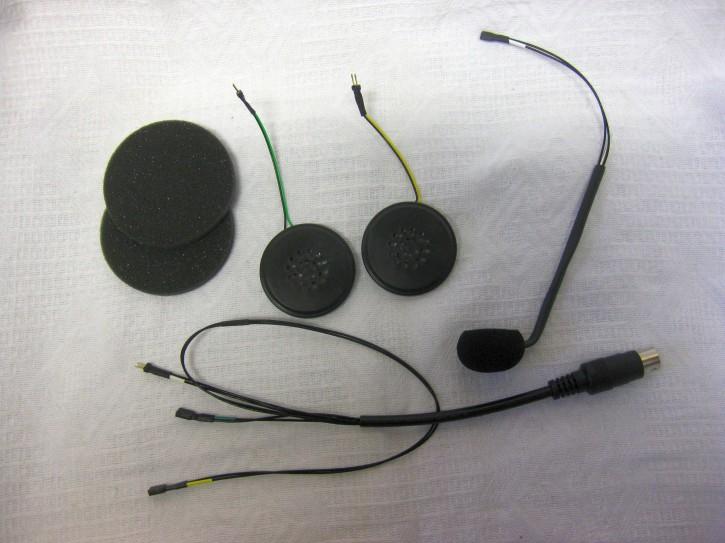 KT-HES-05-HiFi Helmeinbausatz Klapphelme mit Hifi-Lautsprecher