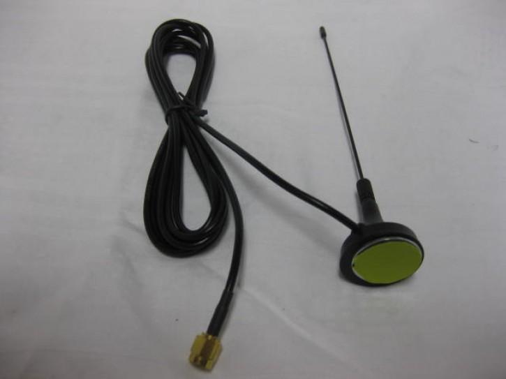 KT-ASL-0201 Lange Antenne mit abgesetztem Strahler mit SMH Antennenbuchse, 446 MHZ