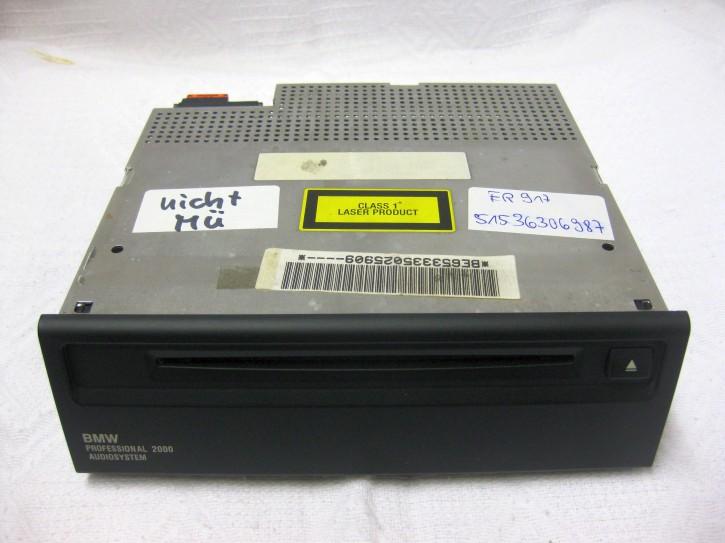 BMW-K1200LT-CD-Radio-nicht-MÜ BE653335025909 BMW Professional 2000 audio System