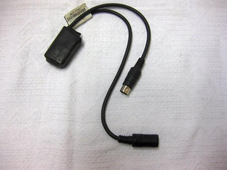 KT-AEF-0301-gebraucht Audio Entstörfilter für Garmin Zumo, 6p DIN Stecker - 6p DIN Kupplung