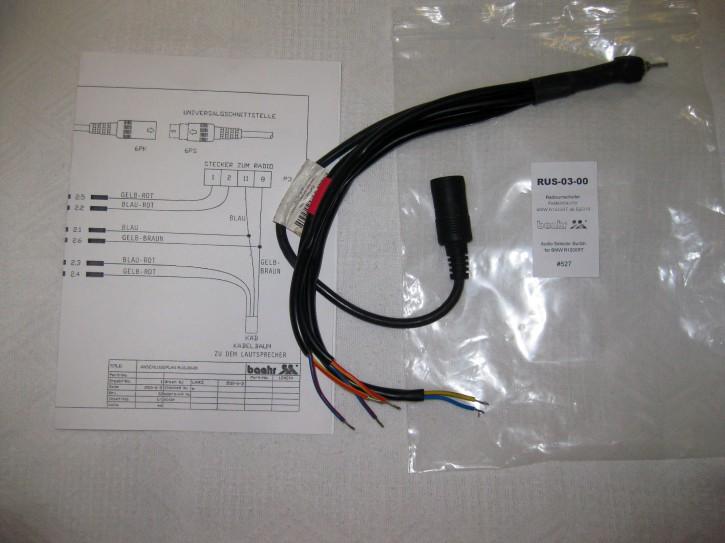KT-RUS-0300 Radioumschalter BMW R1200RT/k1600