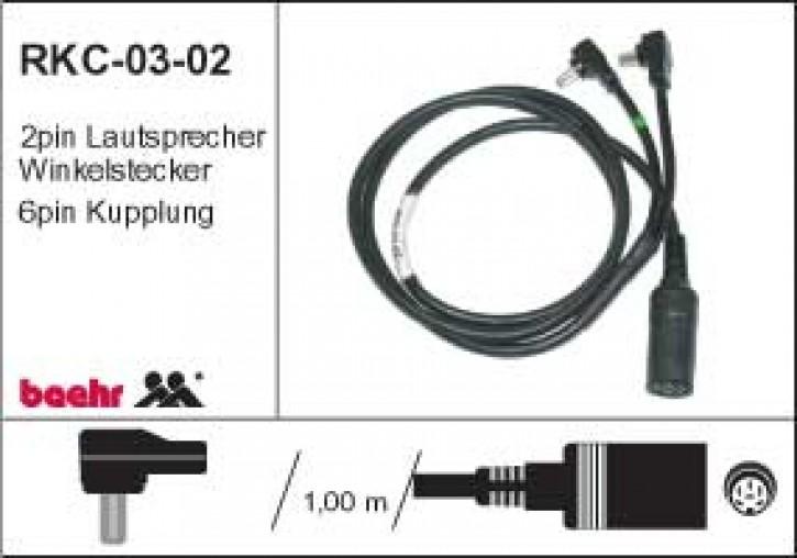 KT-RKC-0302 Radiokabel-Carstereo an Universalschnittstelle
