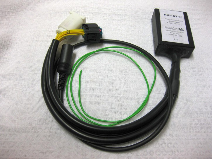 KT-RUP-0201 Anschlussbox für die BMW K1600 GT / GTL / R1200RT-LC