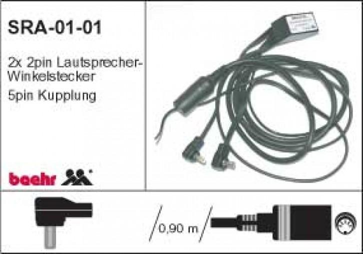 KT-SRA-0101 gebraucht Stereo Radio Adapter, direkt Autoradio an Helm