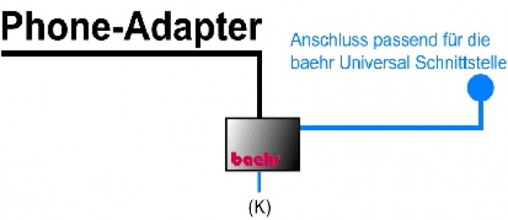 baehr KT-BPU-03-00 Phone Adapter