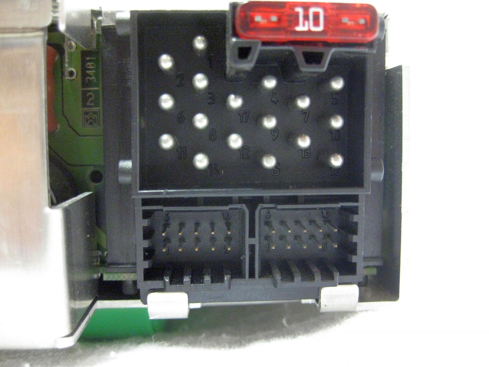 bmw k1200lt cd radio nicht m 1999 2003 be653425008720. Black Bedroom Furniture Sets. Home Design Ideas