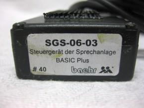 baehr basic plus LCS-04-02 Steuergerät gebraucht #40
