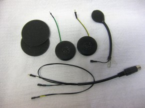KT-HES-06-HiFi Helmeinbausatz Jethelme mit HiFi-Lautsprecher