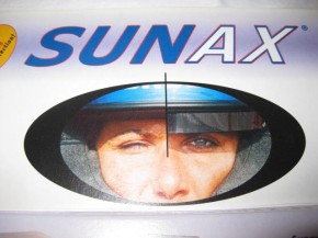 """Sunax classic """"silver"""" Sonnenblende"""