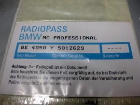BMW-K1200LT-Kassetten-Radio-nicht MÜ