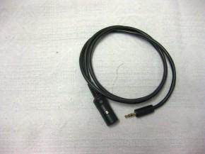 KT-RKA-01-01-gebraucht Radiokabel für Alleinfahrt Direktanschluss Helm
