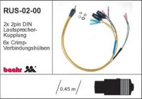 KT-RUS-0200 Radioumschalter Festeinbau für BMW K1200LT